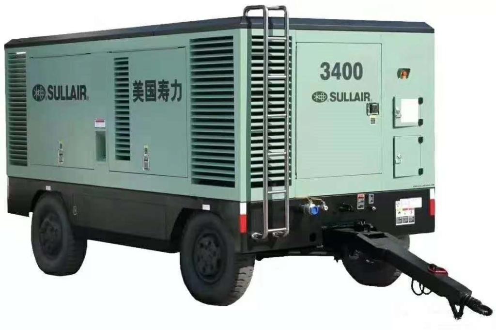 打深水井利器-美国寿力DWQ3400柴油移动式螺杆空压机